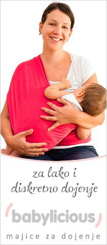 Babylicious majica za dojenje