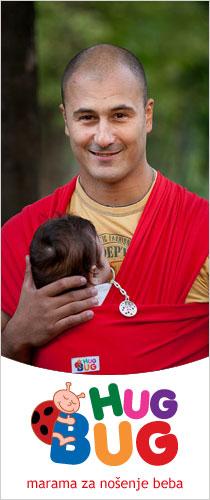Hug Bug marama za nošenje beba